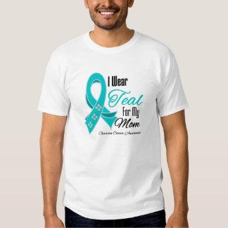 Llevo a la mamá del cáncer ovárico de la cinta del remeras