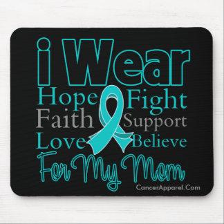 Llevo a la mamá del collage de la cinta - cáncer o alfombrilla de ratones