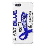 Llevo a la novia azul 42 Spondylitis Ankylosing iPhone 5 Protector