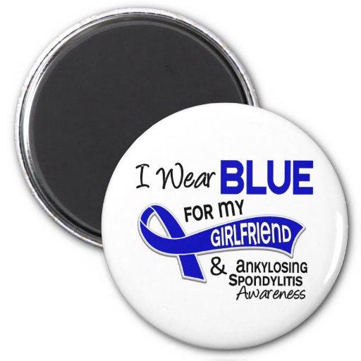 Llevo a la novia azul 42 Spondylitis Ankylosing Imán De Frigorifico