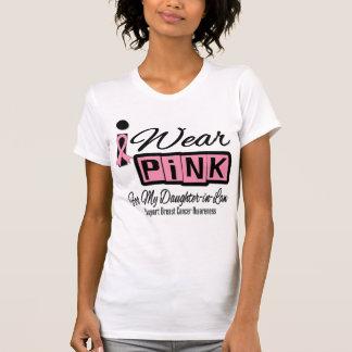 Llevo a la nuera rosada del cáncer de pecho (retra tee shirt