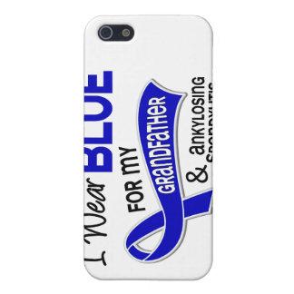 Llevo al abuelo azul 42 Spondylitis Ankylosing iPhone 5 Carcasa