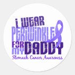 Llevo al cáncer de estómago del papá 6,4 del pegatinas redondas