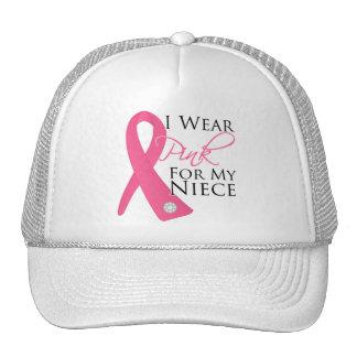 Llevo al cáncer de pecho rosado de la sobrina gorra