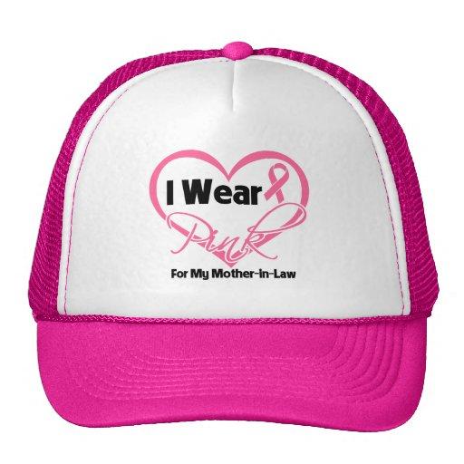Llevo al cáncer de pecho rosado de la suegra del c gorras