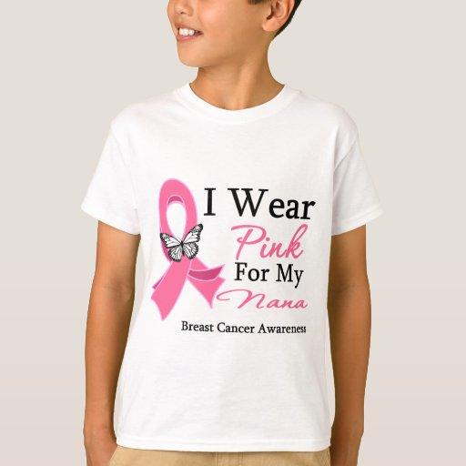 Llevo al cáncer de pecho rosado de Nana de la Polera