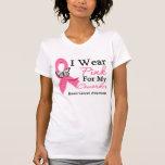 Llevo al cáncer de pecho rosado del compañero de camiseta