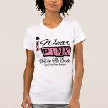 Llevo al cáncer de pecho rosado para ganar mi camiseta