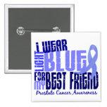 Llevo al cáncer de próstata azul claro del mejor a pins