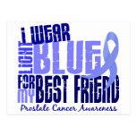 Llevo al cáncer de próstata azul claro del mejor a postales