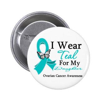 Llevo al cáncer ovárico de la hija de la cinta del pin redondo 5 cm