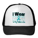 Llevo al cáncer ovárico de la suegra del collage d gorra
