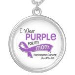 Llevo al cáncer pancreático de la mamá de la púrpu pendientes