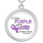 Llevo al cáncer pancreático de la nuera de la púrp collar
