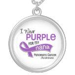 Llevo al cáncer pancreático de Nana de la púrpura  Pendiente