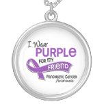 Llevo al cáncer pancreático del amigo de la púrpur grimpolas personalizadas