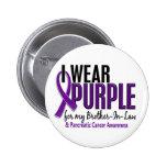 Llevo al cáncer pancreático del cuñado 10 púrpuras pin