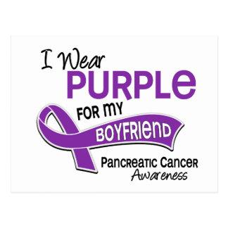 Llevo al cáncer pancreático del novio de la tarjetas postales