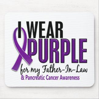 Llevo al cáncer pancreático del suegro 10 púrpuras tapete de ratón