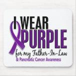 Llevo al cáncer pancreático del suegro 10 púrpuras tapetes de ratones