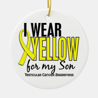 Llevo al cáncer testicular del hijo 10 amarillos ornatos