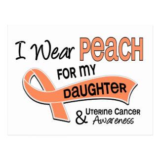 Llevo al cáncer uterino de la hija del melocotón postal
