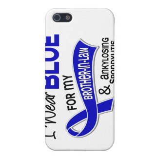 Llevo al cuñado azul 42 Spondylit Ankylosing iPhone 5 Fundas