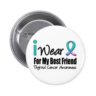 Llevo al mejor amigo de la cinta del cáncer de tir pins