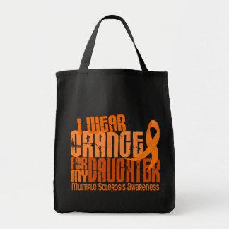 Llevo al ms anaranjado de la esclerosis múltiple d bolsa tela para la compra