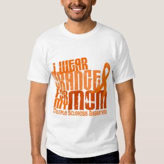 Llevo al ms anaranjado de la esclerosis múltiple d playera