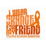 Llevo al ms anaranjado de la esclerosis múltiple postal