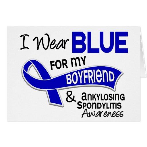 Llevo al novio azul 42 Spondylitis Ankylosing COMO Tarjetón