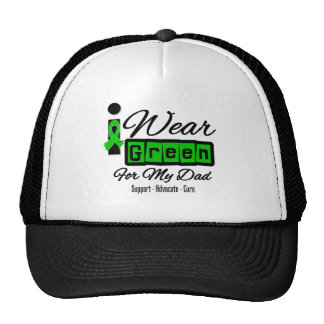 Llevo al papá verde de la cinta retra - gorra