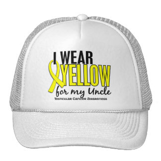 Llevo al tío amarillo 10 cáncer testicular gorras