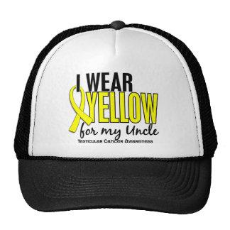 Llevo al tío amarillo 10 cáncer testicular gorras de camionero