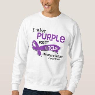 Llevo al tío cáncer pancreático de la púrpura 42 sudadera