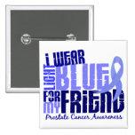 Llevo azul claro para el cáncer de próstata del am pins