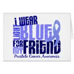 Llevo azul claro para el cáncer de próstata del am felicitaciones