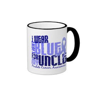 Llevo azul claro para mi cáncer del tío 6,4 prósta taza de café