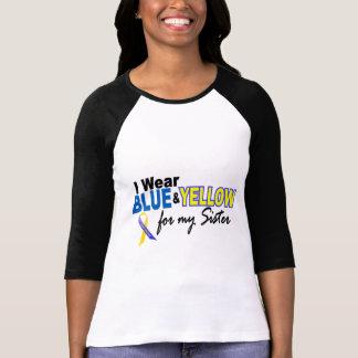 Llevo azul y amarillo para mi hermana Síndrome de Polera