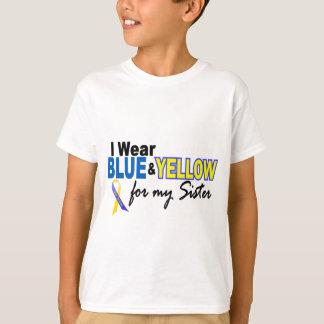 Llevo azul y amarillo para mi hermana Síndrome de Poleras