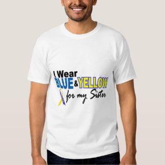 Llevo azul y amarillo para mi hermana Síndrome de Remeras