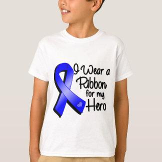 Llevo Blue Ribbon para mi héroe Camisas