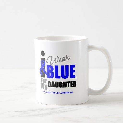 Llevo Blue Ribbon para mi hija Tazas De Café