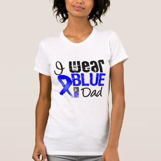 Llevo Blue Ribbon para mi papá - cáncer de colon Camisetas