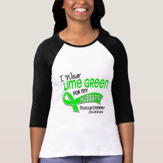 Llevo distrofia muscular del marido de la verde li camiseta