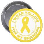 Llevo el amarillo para mi abuelo pin