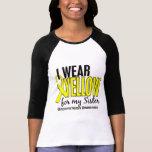 Llevo el amarillo para mi endometriosis de la playera