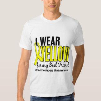 Llevo el amarillo para mi endometriosis del mejor playera