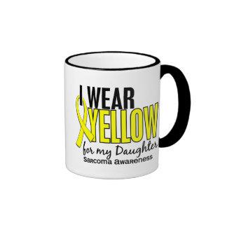 Llevo el amarillo para mi sarcoma de la hija 10 taza a dos colores